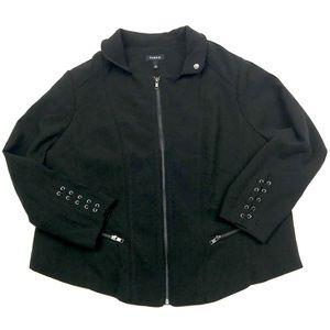 Torrid Zip-Front Cropped Jacket